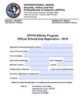 SPFPA– Scholarship Application